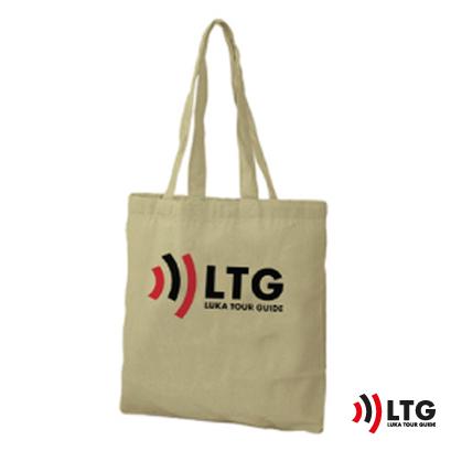 Ekologiczna torba bawełniana z logo